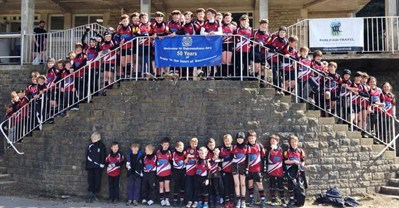 Crambrook RFC Mini Section Rugby Tour To The Oakmeadians Rugby Festival 2013
