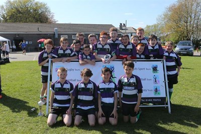 Runner Up Of U13 Age Group At The Bognor Junior Rugby Festival 2014 Bognor RFC