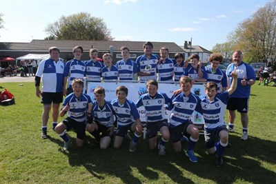 Runner Up Of U14 Age Group At The Bognor Junior Rugby Festival 2014 Lewes RFC