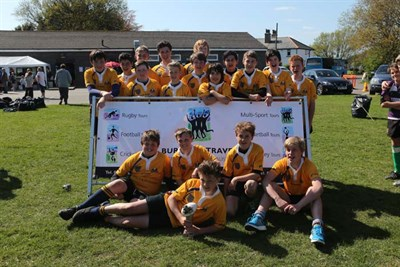 Winners Of The U13 Age Group At The Bognor Junior Rugby Festival 2014 Worthing RFC