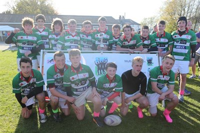 Winners Of U15 Cup Competition At The Bognor Junior Rugby Festival 2014 Cheshunt RFC