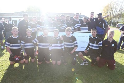 Winners Of U15 Plate Competition At The Bognor Junior Rugby Festival 2014 Chingford RFC