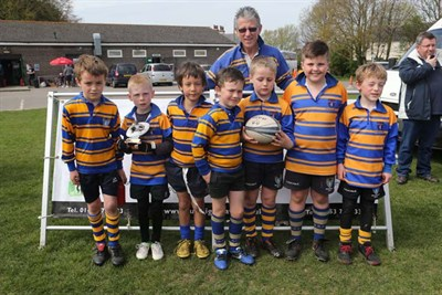 Runner Up In The U8 Competition At The Bognor Mini Rugby Festival 2014 - Beckenham RFC