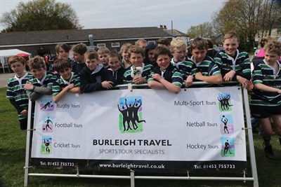 Runner Up In The U12 Competition At The Bognor Mini Rugby Festival 2014 - Reading Abbey RFC