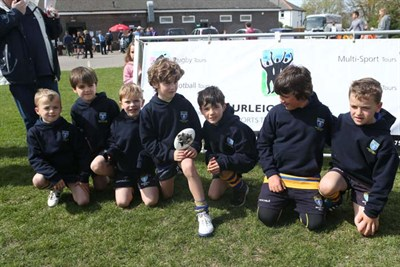 Runner Up Of The U7 Competition At The Bognor Mini Rugby Festival 2014 - Beckenham RFC