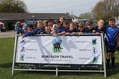 Winner Of The U11 Competition At The Bognor Mini Rugby Festival 2014 - Brighton Bulls RFC