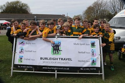 Winner Of The U12 Competition At The Bognor Mini Rugby Festival 2014 - Shoreham RFC