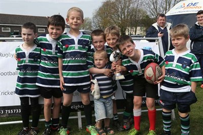 Winners Of The U8 Competition At The Bognor Mini Rugby Festival 2014 - Reading Abbey RFC