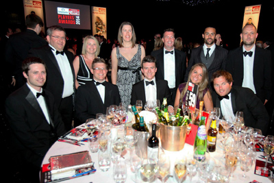 The Burleigh Travel Team At The RPA Awards 2014