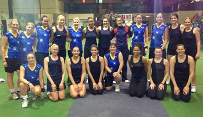 England Indoor Netball Association Ladies Netbal Tour To South Africa 2014