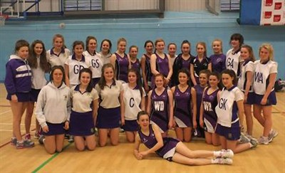 Westholme School Netball Tour To Cardiff 2014