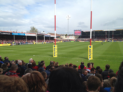 Support Gloucester at Kingsholm