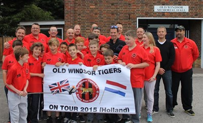 Old Windsor Tigers Football Club U11 Football Tour To Holland 2015