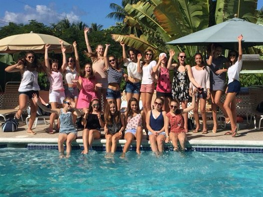 Francis Holland School Netbal Tour To Barbados 2015