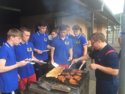 Mickleover Sports FC U16 Football Tour BBQ