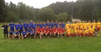 Mickleover Sports FC U16 Football Teams At The Tournament