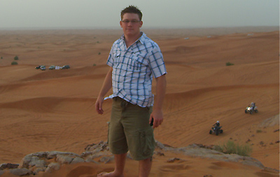 Ryan on a Familiarisation Trip to Dubai