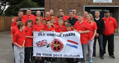 Old Windsor Tigers U13 FC Tour To Holland