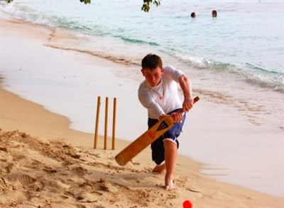 Beach Cricket In Barbados School Tour