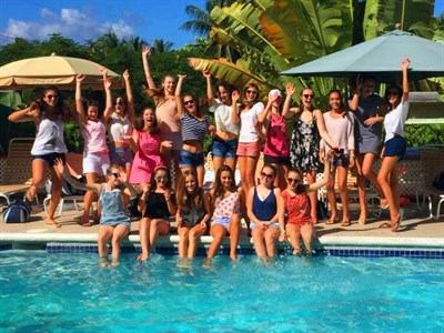 Francis Holland School Netball tour to Barbados
