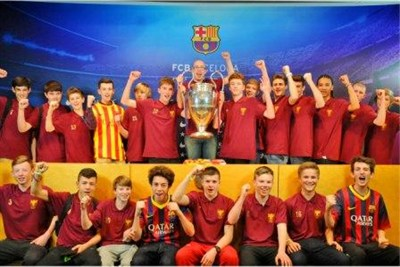 Park House School football tour to Spain