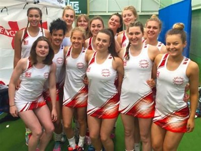 England Indoor Netball U21 Team