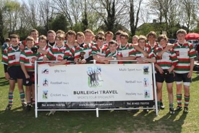 The Bognor Junior Rugby Festival