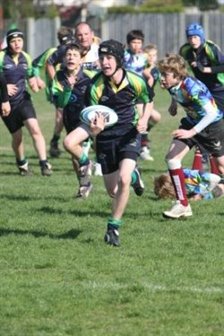 Action From The Bognor Junior Rugby Festival