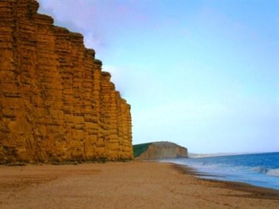 Jurassic Coast Beach In Dorset