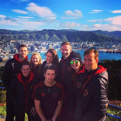 England Indoor Netball Team Tour To New Zealand