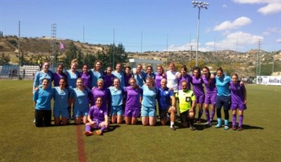 Uni Of St Andrews WFC Football Tour To Cyprus