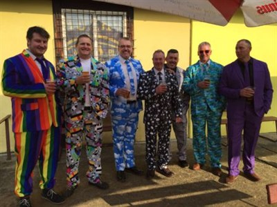 Ollerton RFC Rugby Tour To Prague Fancy Dress