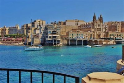 Coastal Town In Malta