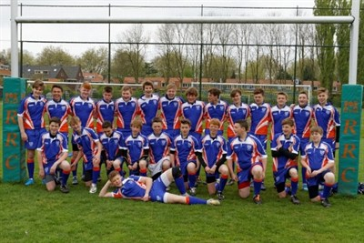 Diss RFC U15 Rugby Tour To The Hilversum International Youth Rugby Festival