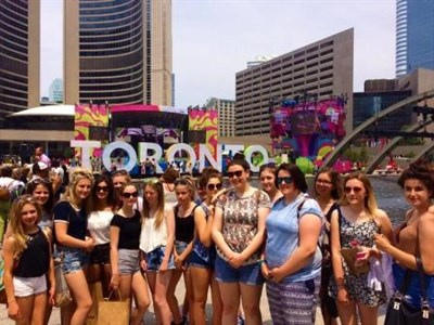 Ysgol Y Strade School Girls Netball Tour In Toronto