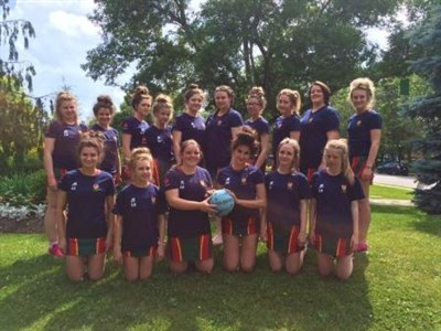 Ysgol Y Strade School Netball Tour To Canada Team Photo