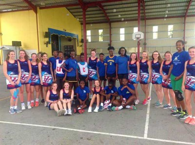 Glenmore Winton School Netball Tour To Barbados