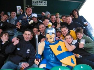 Portsmouth RFC Colts Match Expereince During Rugby Tour To Gloucester