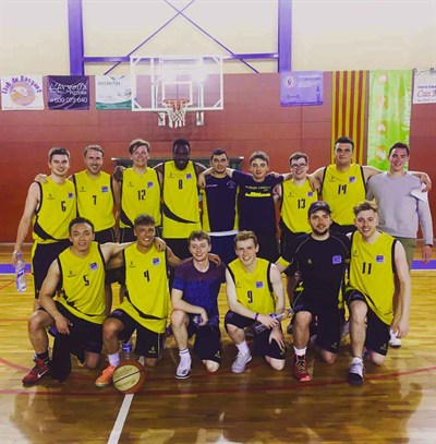 Heriot Watt University Mens Basketball Tour To Spain 2017