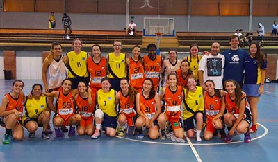 Heriot Watt University Womens Basketball Tour To Spain 2017
