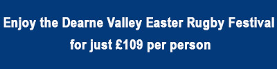 Enjoy The Dearne Valley Easter Rugby Festival