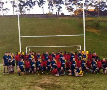 Castle School Rugby Match 1 In South Africa