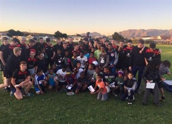 Rugby Coaching Session In South Africa