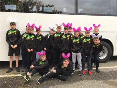 Littleborough Rugby Club U13s Coach Ride To Hilversum Rugby Festival