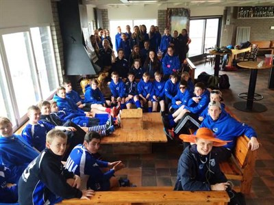 Whitchurch Hockey Tour To Holland Meal Out