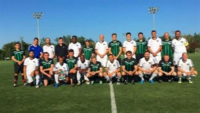 3 Rifles Football Tour To Canada First Game