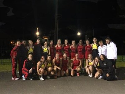 Army Netball Tour To Australia Second Match