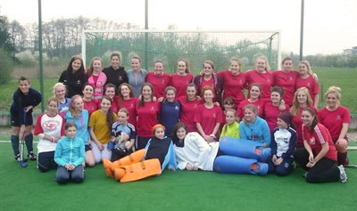 Strathclyde University Ladies Hockey Tour To Prague 2014