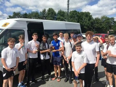 Fearnhill School CC Tour To Tewkesbury 2017