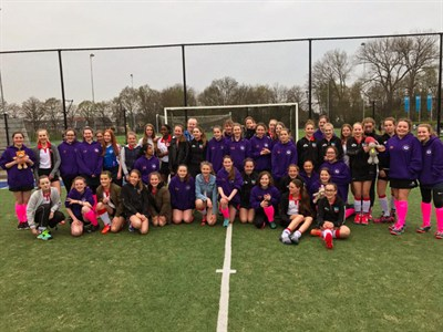 Leeds Girls Hockey Tour To Holland Team